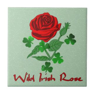Wild Irish Rose Ceramic Tiles