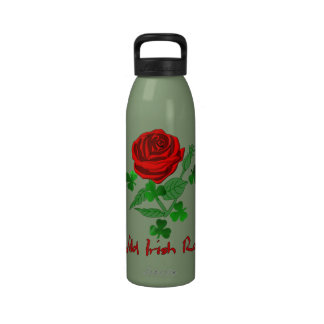 Wild Irish Rose Drinking Bottles