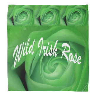 Wild Irish Rose Head Kerchiefs