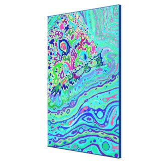 Wild Island - Creation - 1 and 2 Combo - Canvas Canvas Print