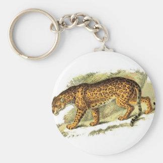 Wild Jaguar Key Chain
