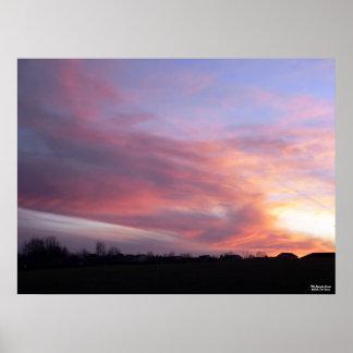 Wild Kentucky Sunset Poster