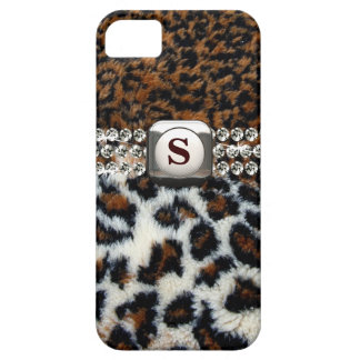 Wild Leopard Fur iPhone 5 Case