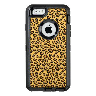 Wild Leopard or Jaguar Print Faux Fur Pattern OtterBox iPhone 6/6s Case