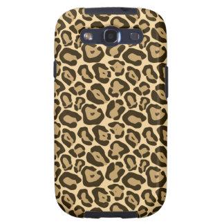 Wild Leopard Pattern Galaxy S3 Cover