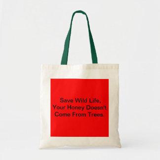 Wild Life Bag Budget Tote Bag