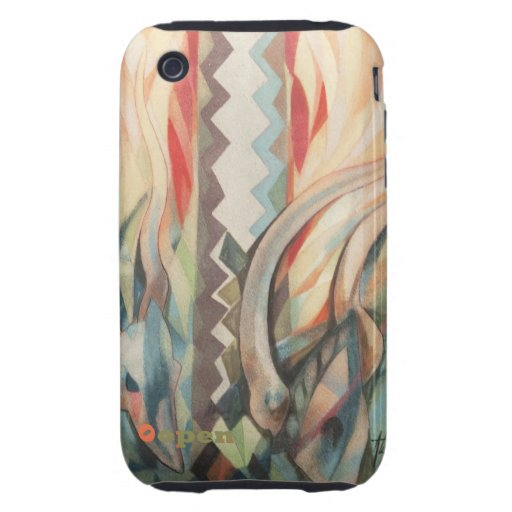 Wild life I by A.Tuzolana Tough iPhone 3 Cover