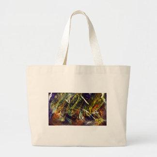 Wild life jumbo tote bag