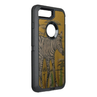 Wild Life Kenya African Safari Zebra OtterBox Defender iPhone 8 Plus/7 Plus Case