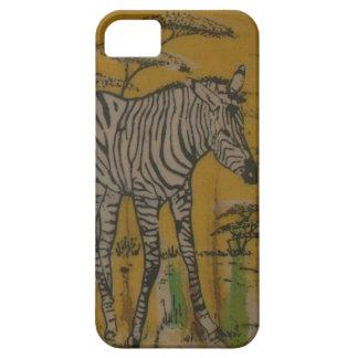 Wild Life Kenya African Safari Zebra png iPhone 5 Cases