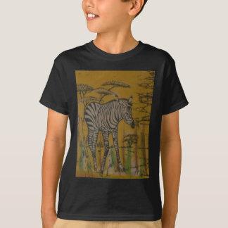 Wild Life Kenya African Safari Zebra.png T-Shirt
