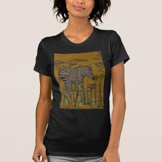Wild Life Kenya African Safari Zebra.png T Shirts