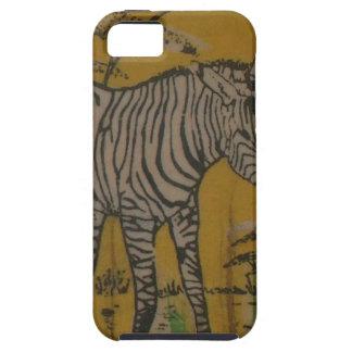 Wild Life Kenya African Safari Zebra.png Tough iPhone 5 Case