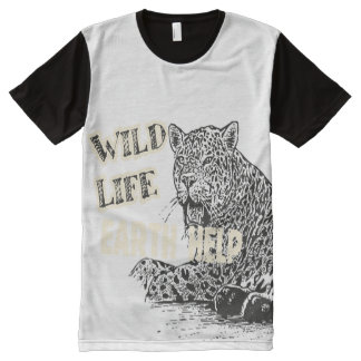 Wild Life Statement Shirt All-Over Print T-Shirt