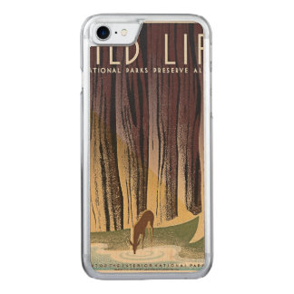 Wild Life - The National Parks preserve all Life. Carved iPhone 8/7 Case