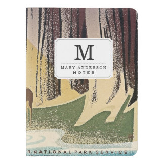 Wild Life - The National Parks preserve all Life. Extra Large Moleskine Notebook