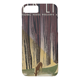 Wild Life - The National Parks preserve all Life. iPhone 7 Case