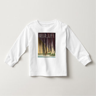 Wild Life - The National Parks preserve all Life. Toddler T-Shirt