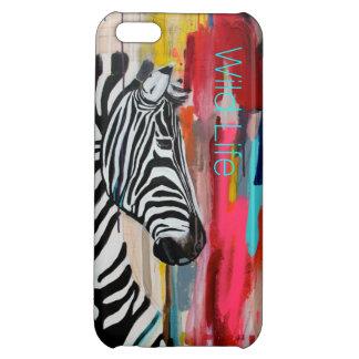 Wild Life Turquoise iPhone 5C Cases