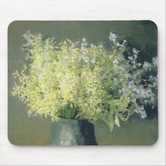Wild Lilacs and Forget-Me-Nots, 1889 Mouse Mat