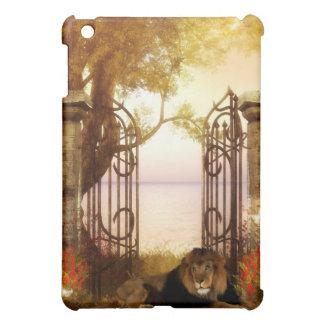 Wild Lion at the Gate iPad Mini Covers