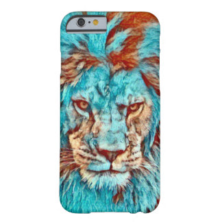 Wild Lion Blues Era Artwork Barely There iPhone 6 Case