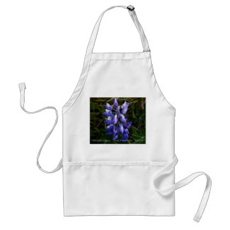 Wild Lupine of Alaska Wildflower apron