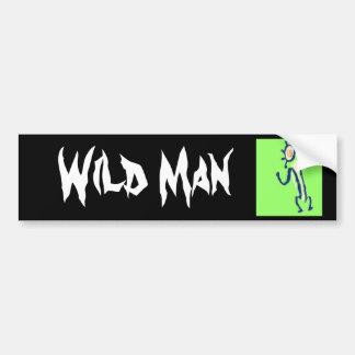 Wild Man Bumper Stickers