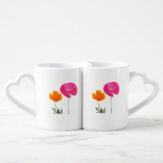 wild meadow flowers couples mug