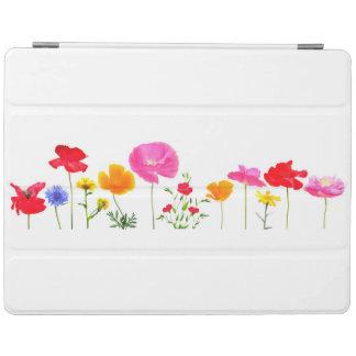 wild meadow flowers iPad cover