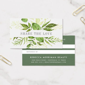 Wild Meadow | Referral Business Card