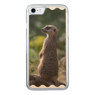 Wild Meerkat Carved iPhone 8/7 Case