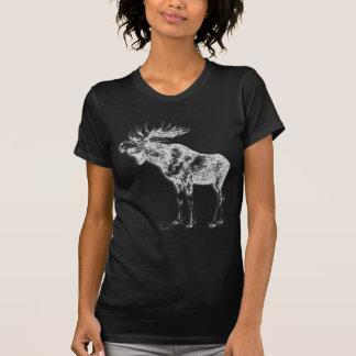 Wild Moose Wildlife Supporter Art Shirt