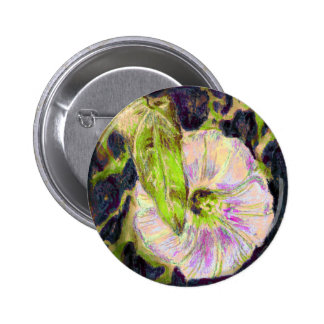 Wild Morning Glory by Alexandra Cook 6 Cm Round Badge