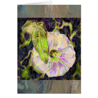 Wild Morning Glory by Alexandra Cook Greeting Card