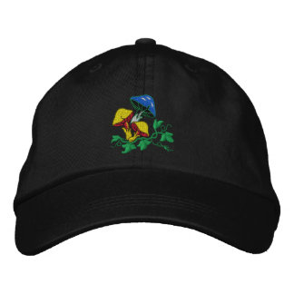 Wild Mushroom Embroidered Cap
