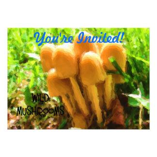 Wild Mushroom Invites