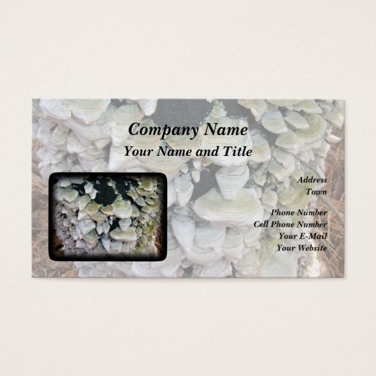 Wild Mushrooms Business Card