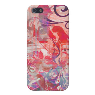 Wild Musical Symphony red purp iPhone 5 Cover