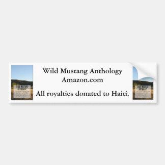 Wild Mustang Anthology bumper sticker