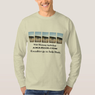 Wild Mustang Anthology long sleeve natural color T-shirt