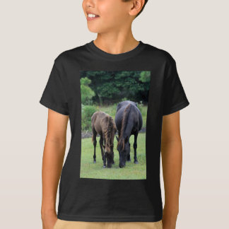 Wild Mustang Mare & Foal OBX NC T Shirts