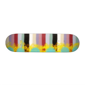 wild mystery texture lines stripped skateboard