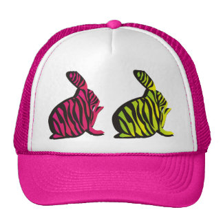 Wild Neon Bunnies Hat