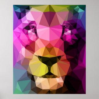 Wild Neon Poster