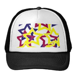 Wild Neon Stars Cap