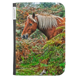 Wild New Forest Pony Horse-lover's Gift Kindle Keyboard Covers