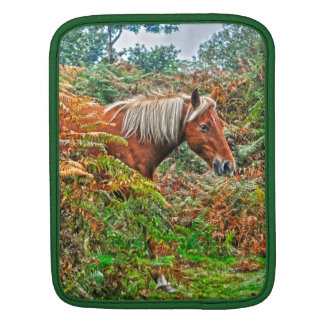 Wild New Forest Pony Horse-lover's Gift Sleeves For iPads