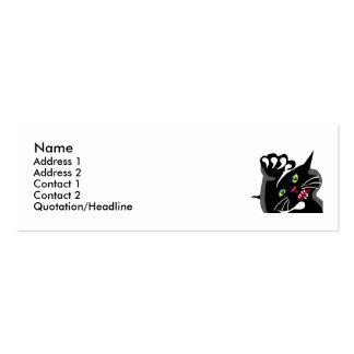 Wild Ninja Cat Business Card Templates