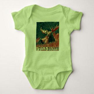 Wild North Moose Baby Bodysuit